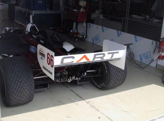 Das Auto von Alex Zanardi
