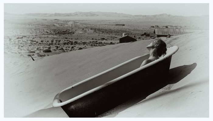 Das Bad in der Wüste