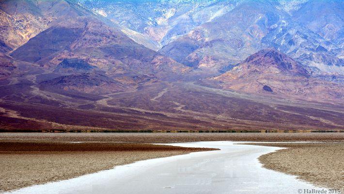 """Das """"Badwater Basin"""" im Death Valley"""