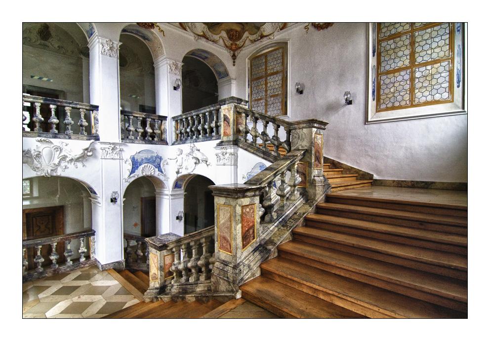 Das barocke treppenhaus foto bild architektur sakralbauten kl ster bilder auf fotocommunity - Bilder treppenhaus ...
