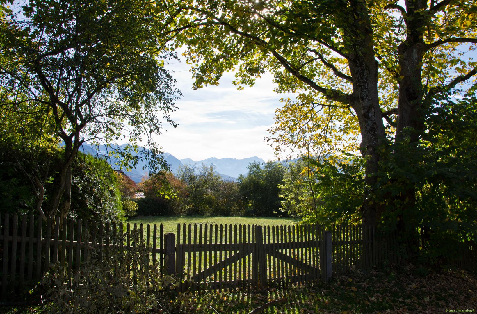 Das bayrische Voralpenland, ein idyllisches Fleckchen Erde ...