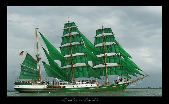 "das ""Becks"" Segelschiff"