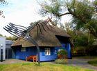 Das bekannte Blaue Haus in AHRENSHOOP