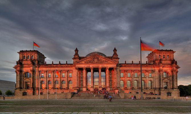 Das Berliner Reichstagsgebäude