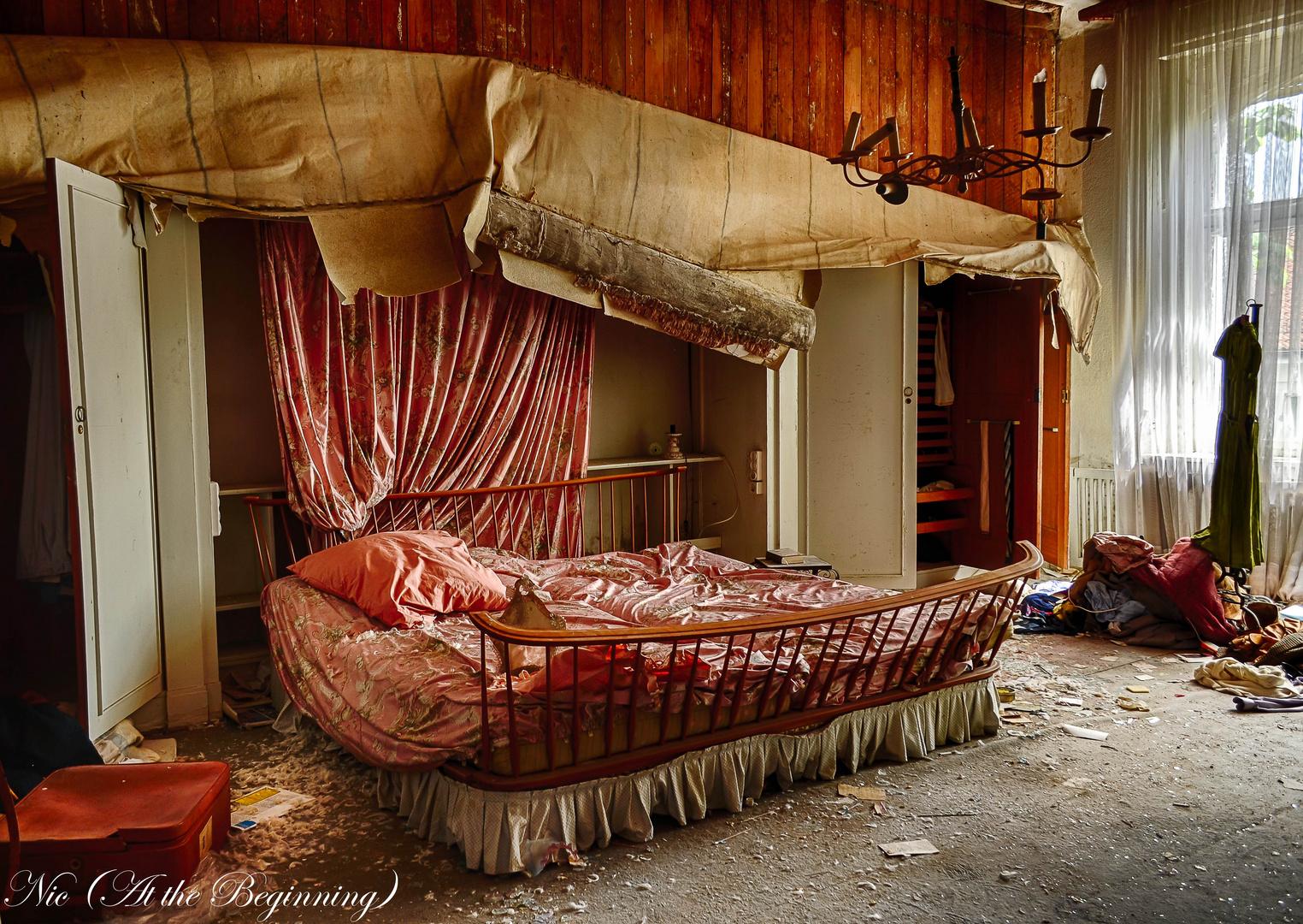 Das berühmte Schlafzimmer - ein Traum in rosé