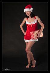 Das Bild zu Weihnachten - und nun ab zum Weihnachtsmann, der nicht gern wartet