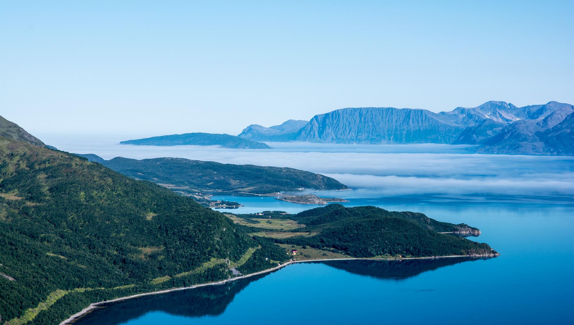 das Blau des Fjords 2