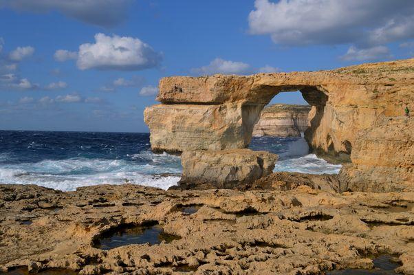 Das blaue Fenster / Gozo 2013