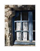 Das blaue Fenster - Locronan