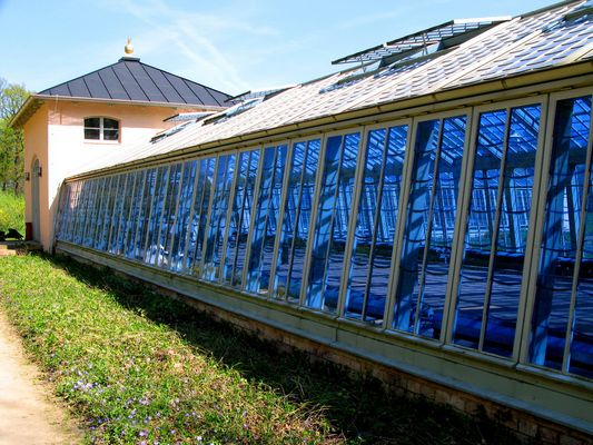 Das Blaue Haus der Gärtnerei