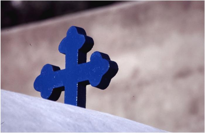 Das blaue Kreuz