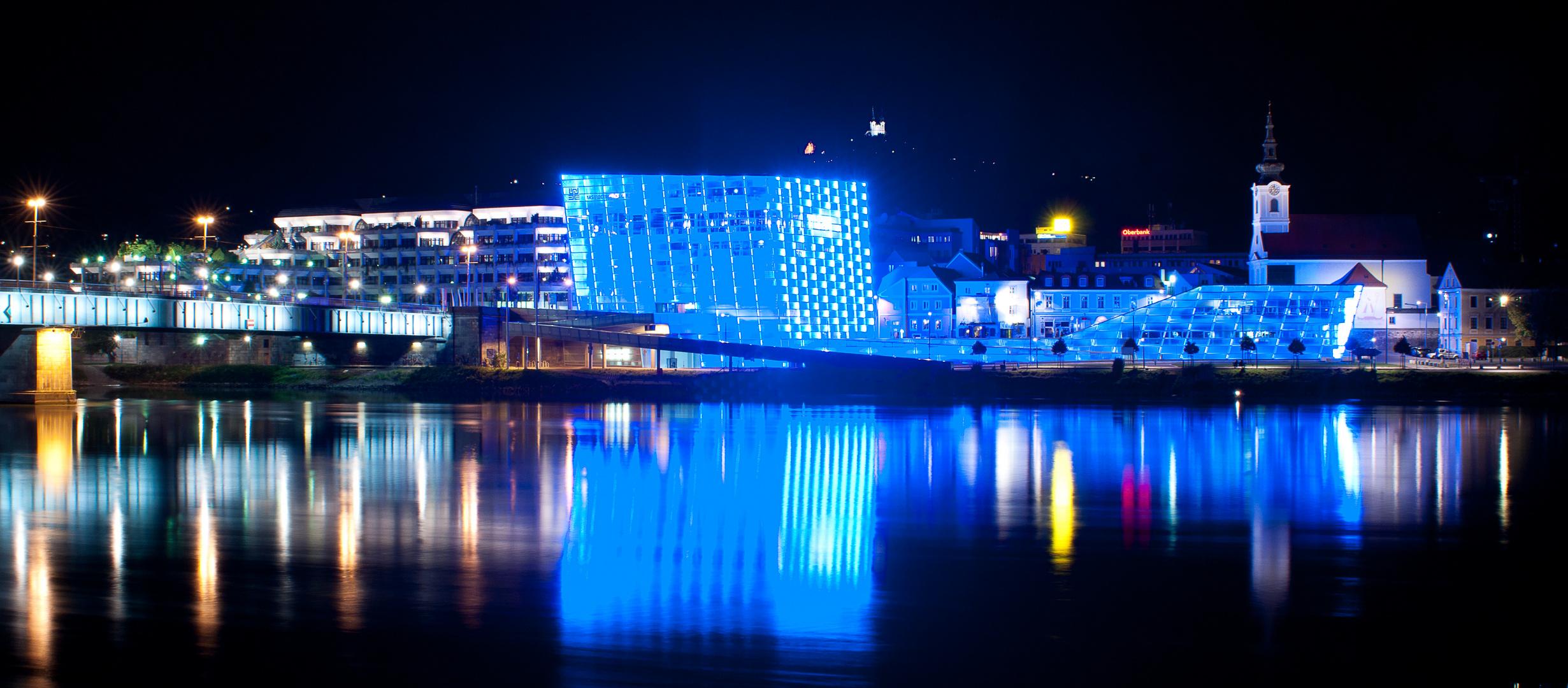 das blaue Linz