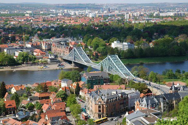 Das Blaue Wunder in Dresden