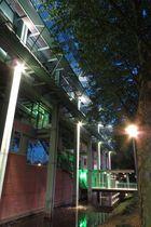 Das Bocholter Rathaus zur Blauen Stunde
