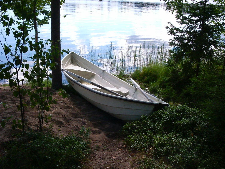 Das Boot am Ufer