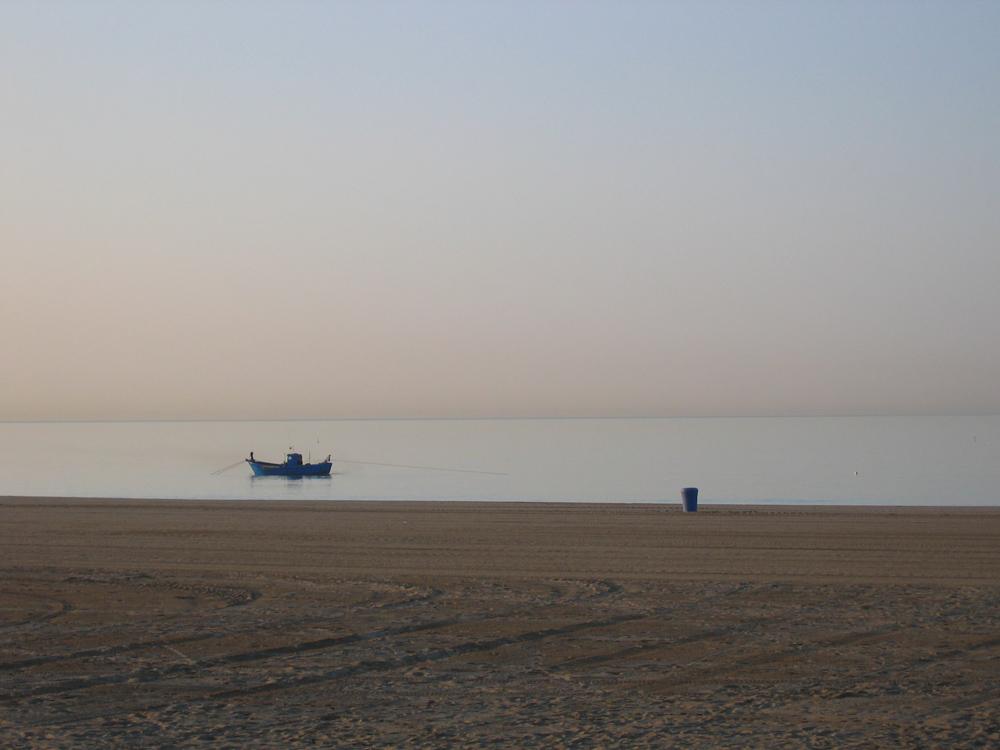 Das Boot und die Tonne