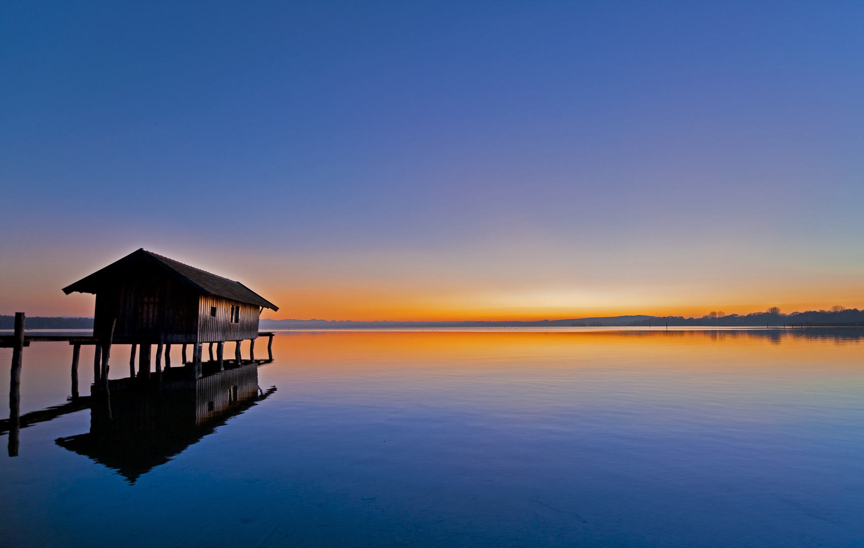 Das Bootshaus am Ammersee