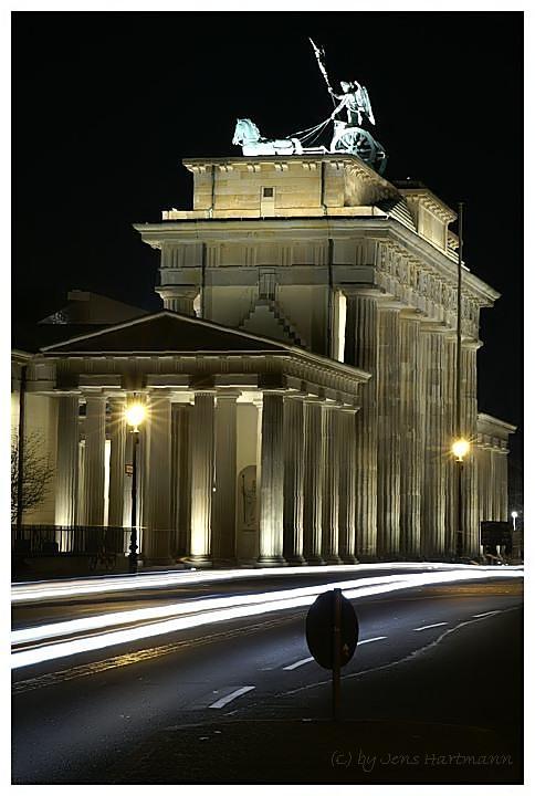 Das Brandenburger Tor.