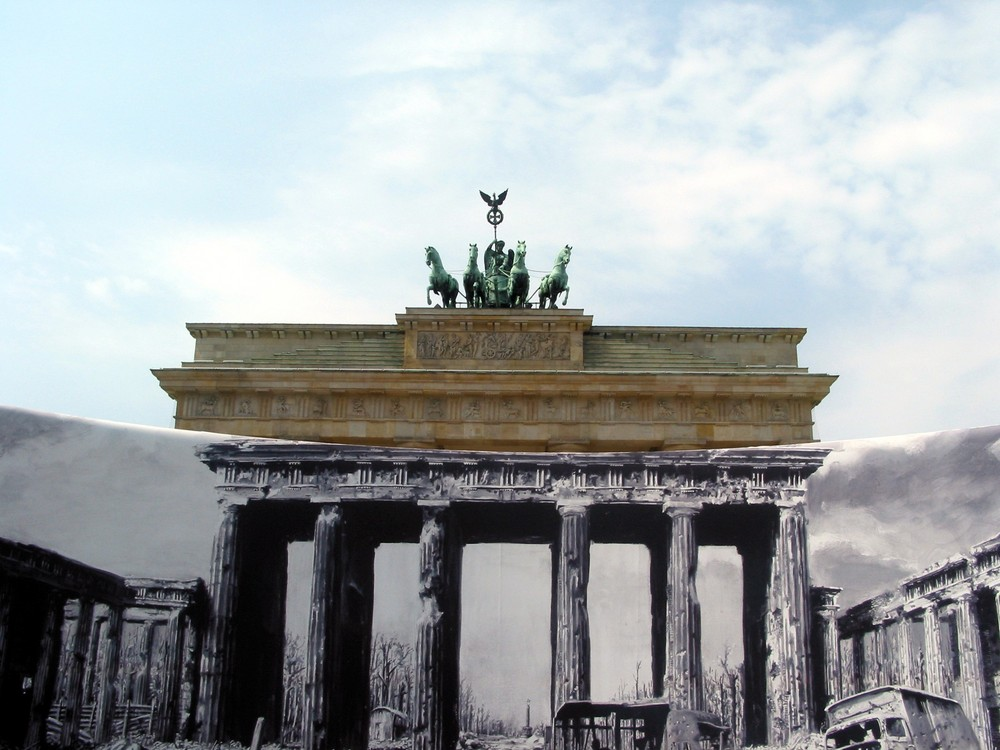 Das Brandenburger Tor außerhalb der zeitlichen Dimension