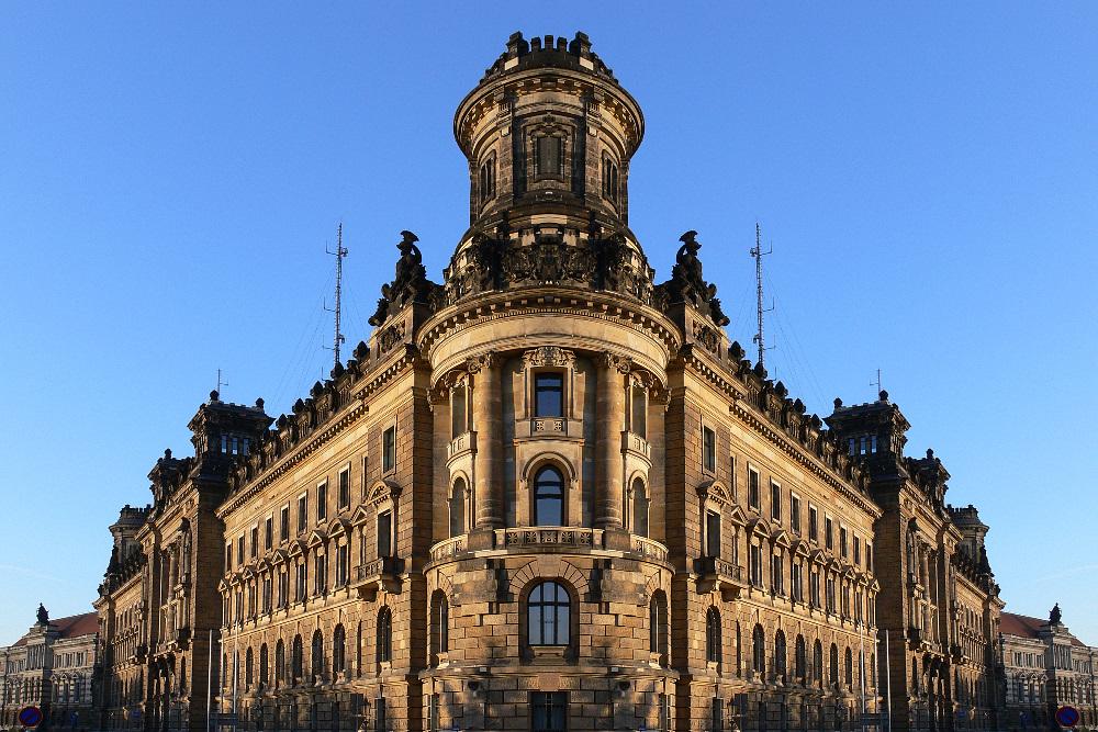 """Das """"braune Fort"""" von Dresden"""