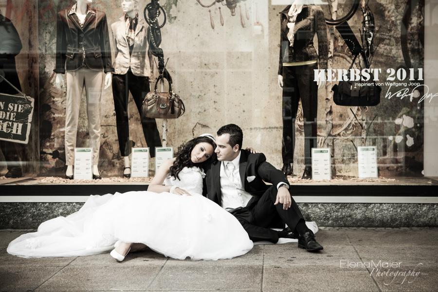 Das Brautpaar 3