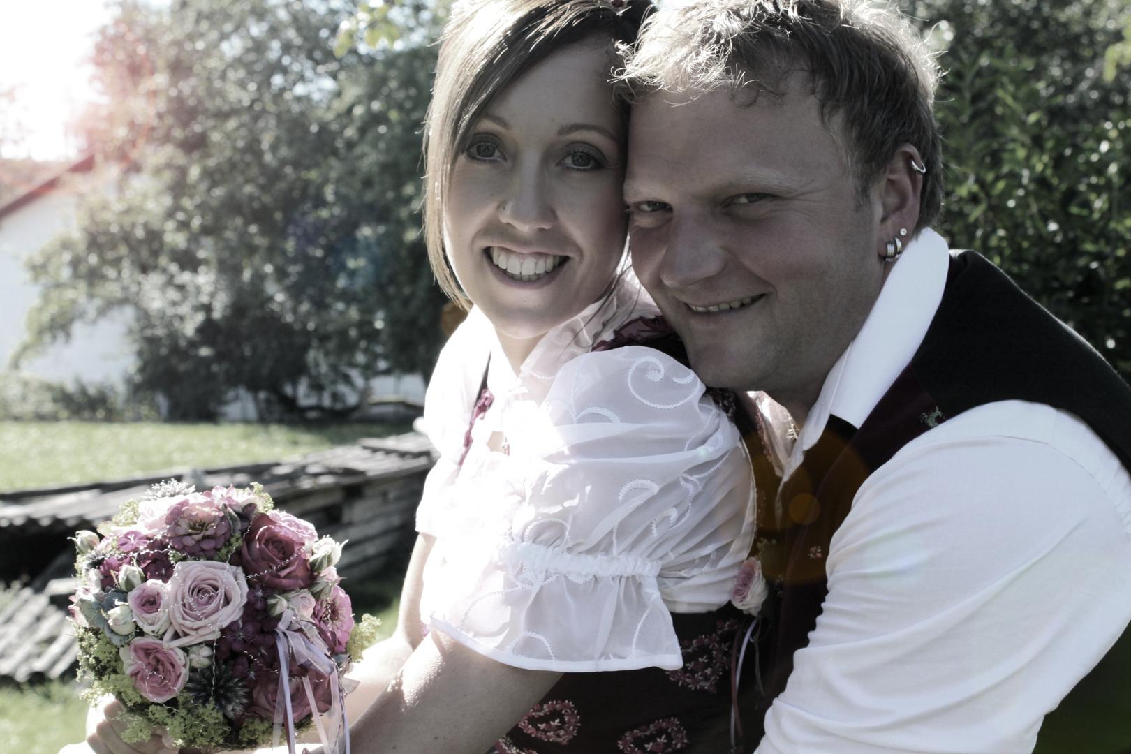 Das Brautpaar,..
