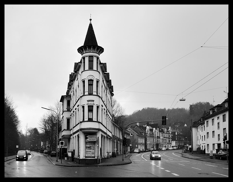Das Bügeleisenhaus / flat iron building / Ennepetal
