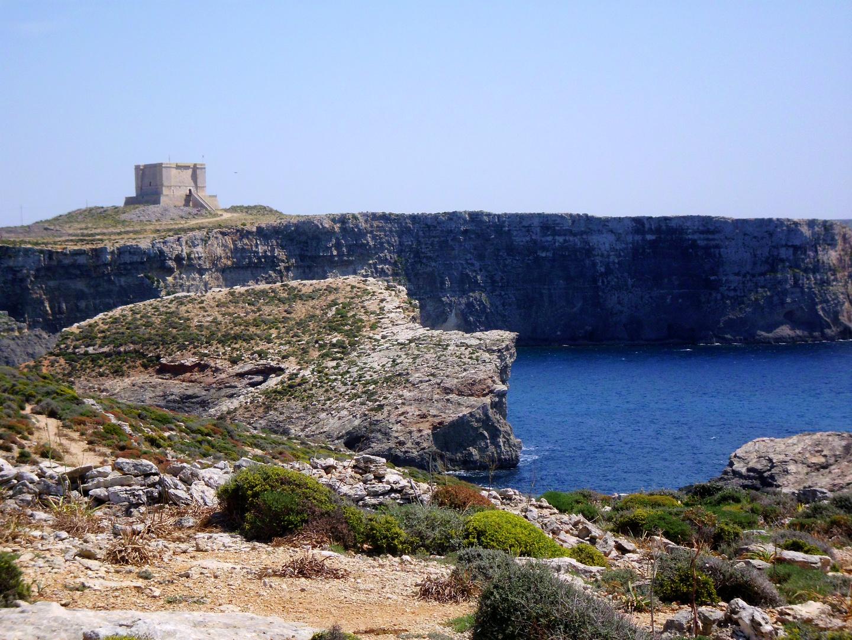 Das Castell auf Comino