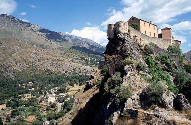 Das Castell von Corte/Korsika