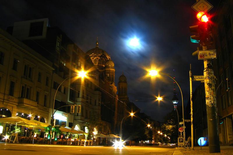 Das Centrum Judaicum an der Oranienburger Straße