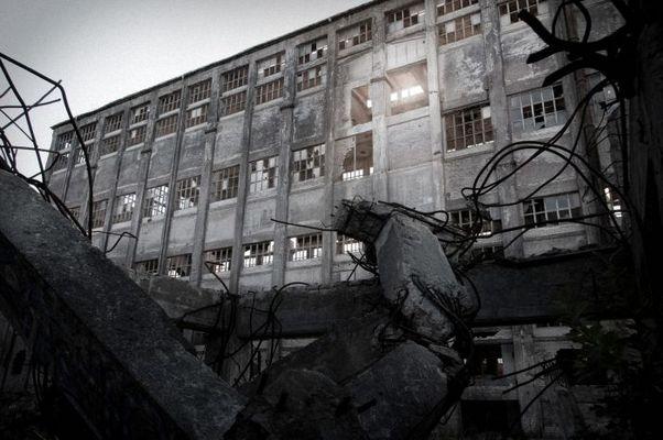 Das Chemiewerk - Haupthalle