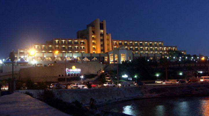 Das Coastline Hotel auf Malta