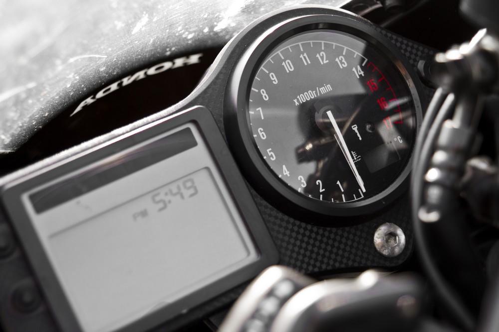 das Cockpit meiner Honda CBR 600F