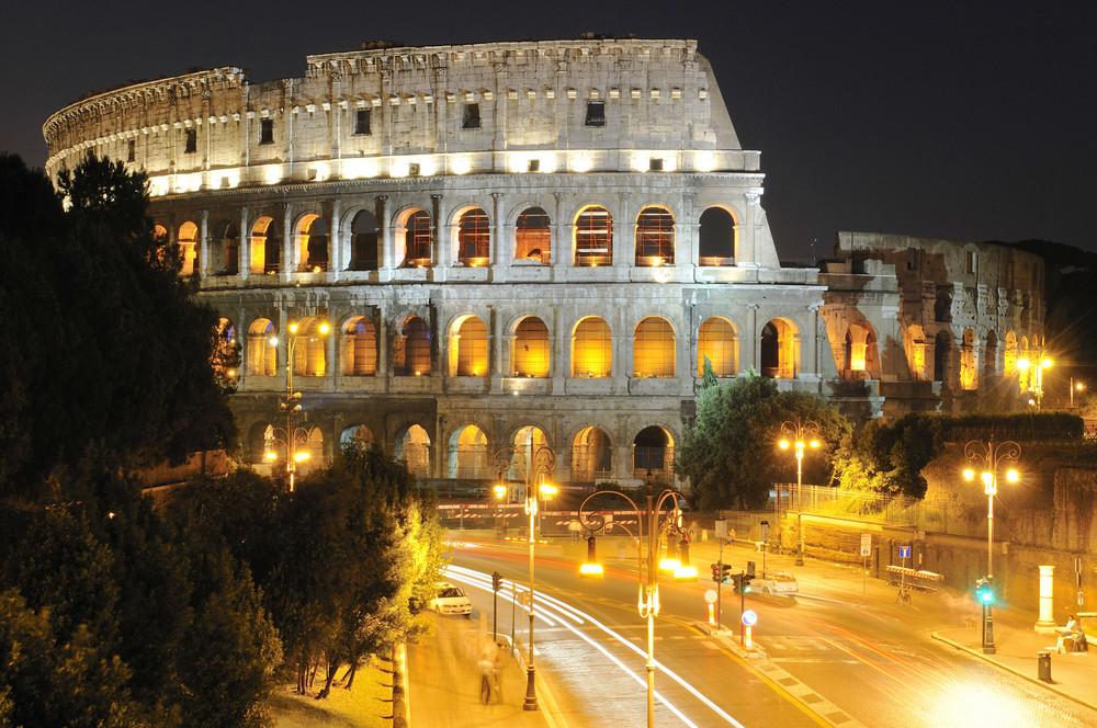 Das Collosseum im Alten Rom