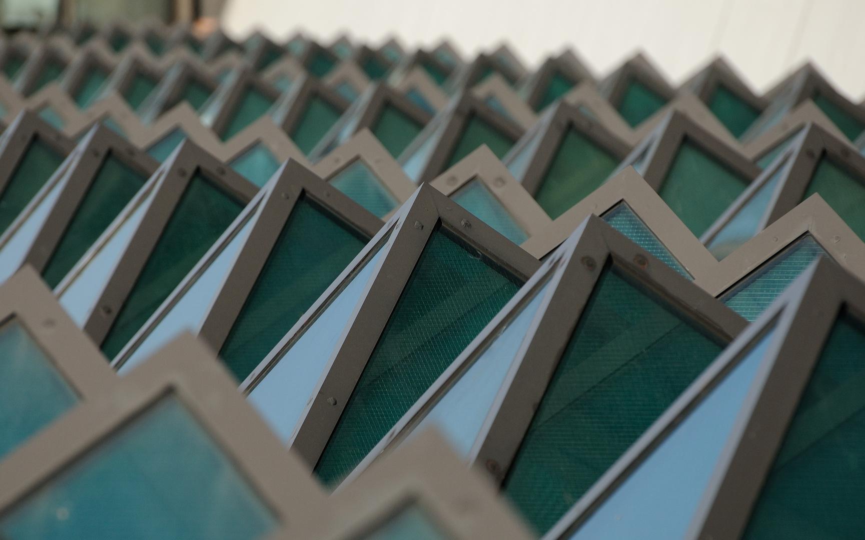 Das Dach vom Terminal A