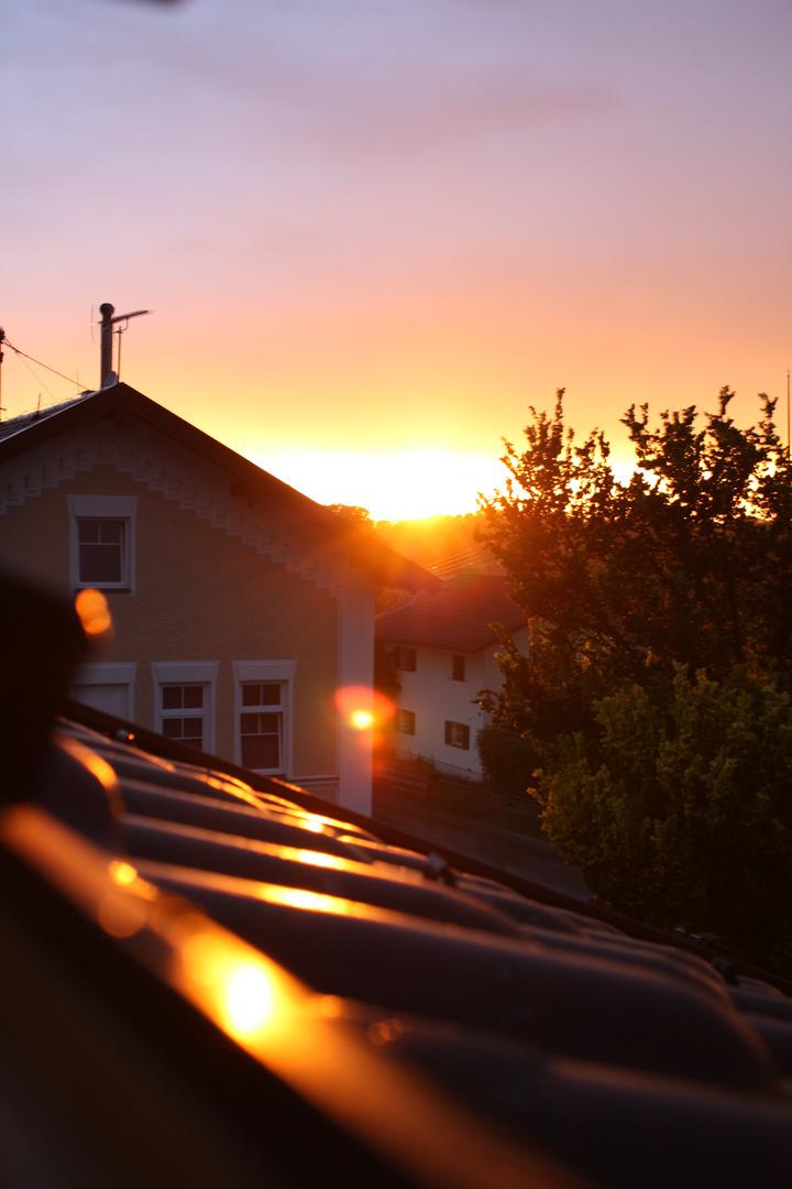 das dachfenster in die andere richtung :