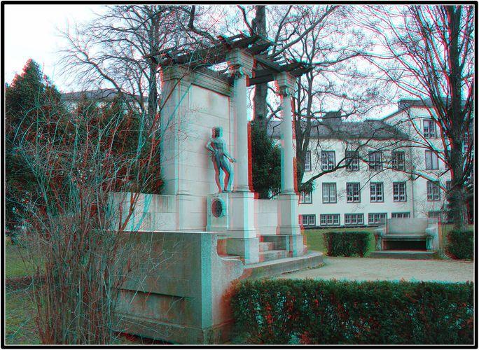 Das Denkmal des jungen Goethe