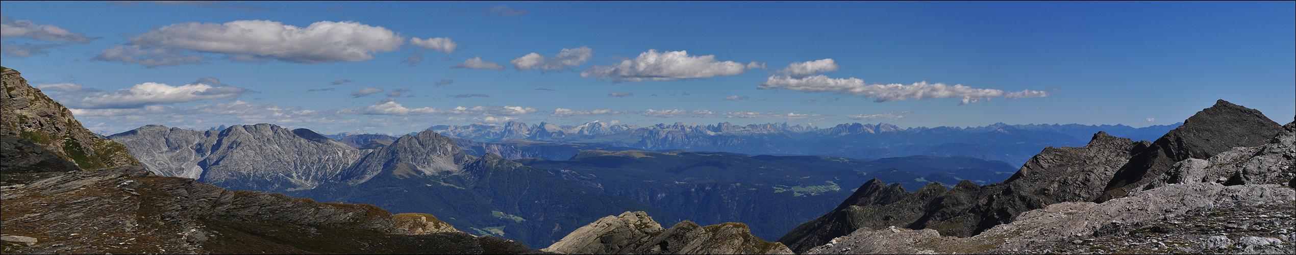 Das Dolomiten-Panorama