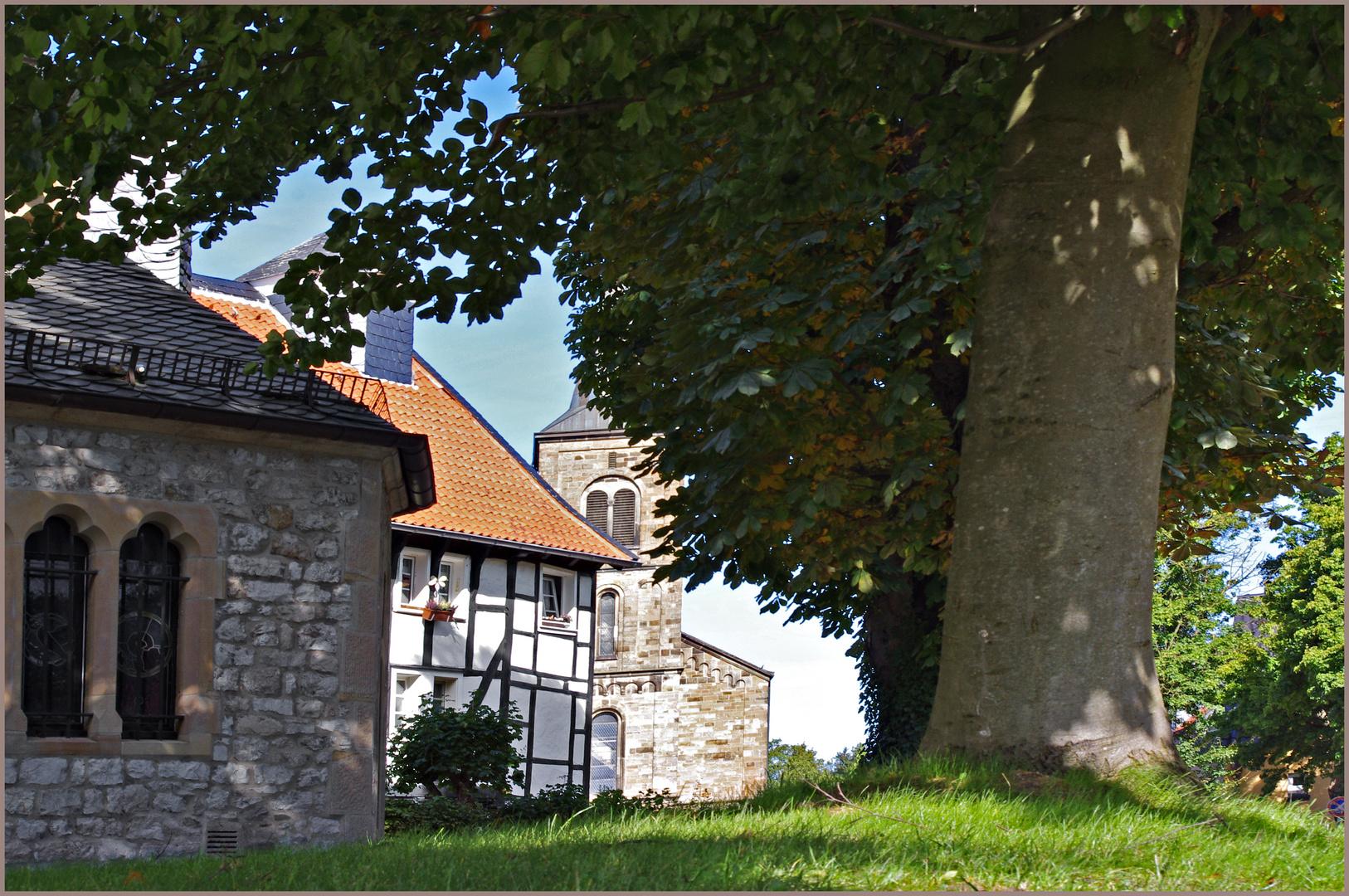 das Dorf Düssel