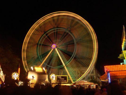 Das drehende Riesenrad