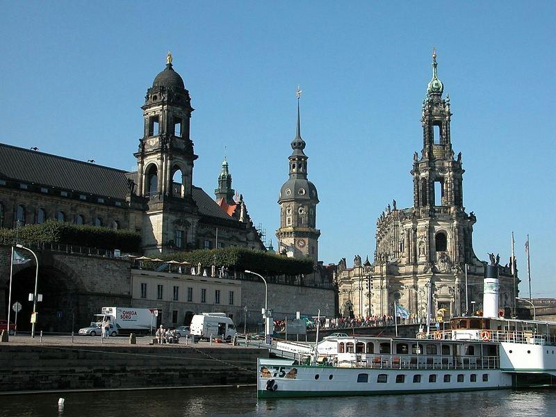 Das Dresdener Terrassenufer