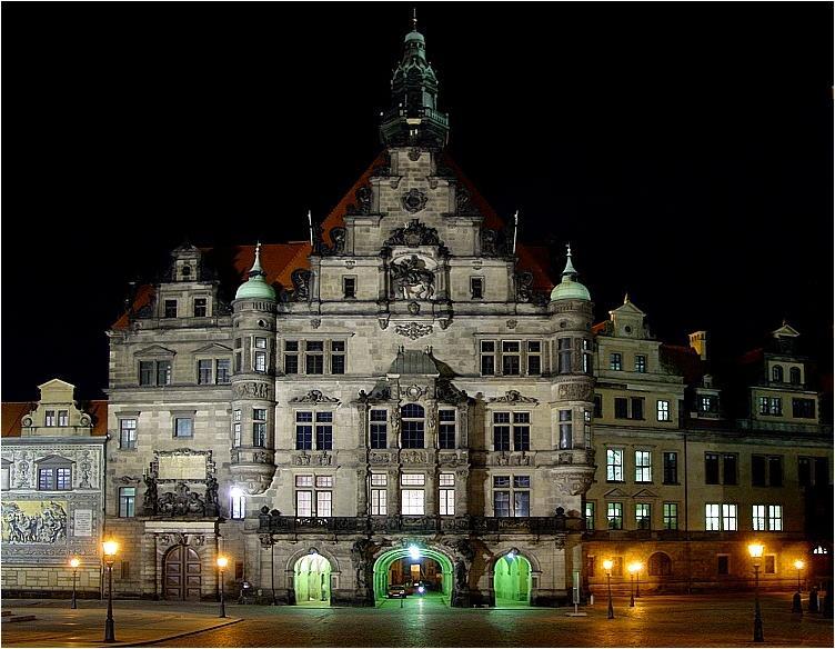 das Dresdner Schloss