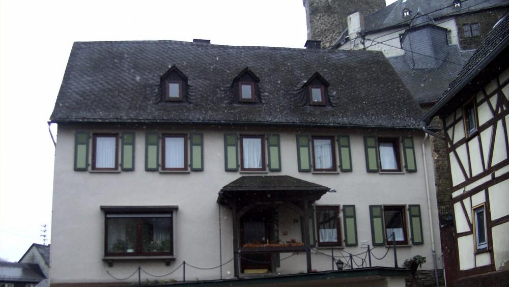 Das ehemalige Pfarrhaus
