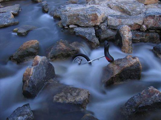 """Das Einrad im """"Soft Water"""""""