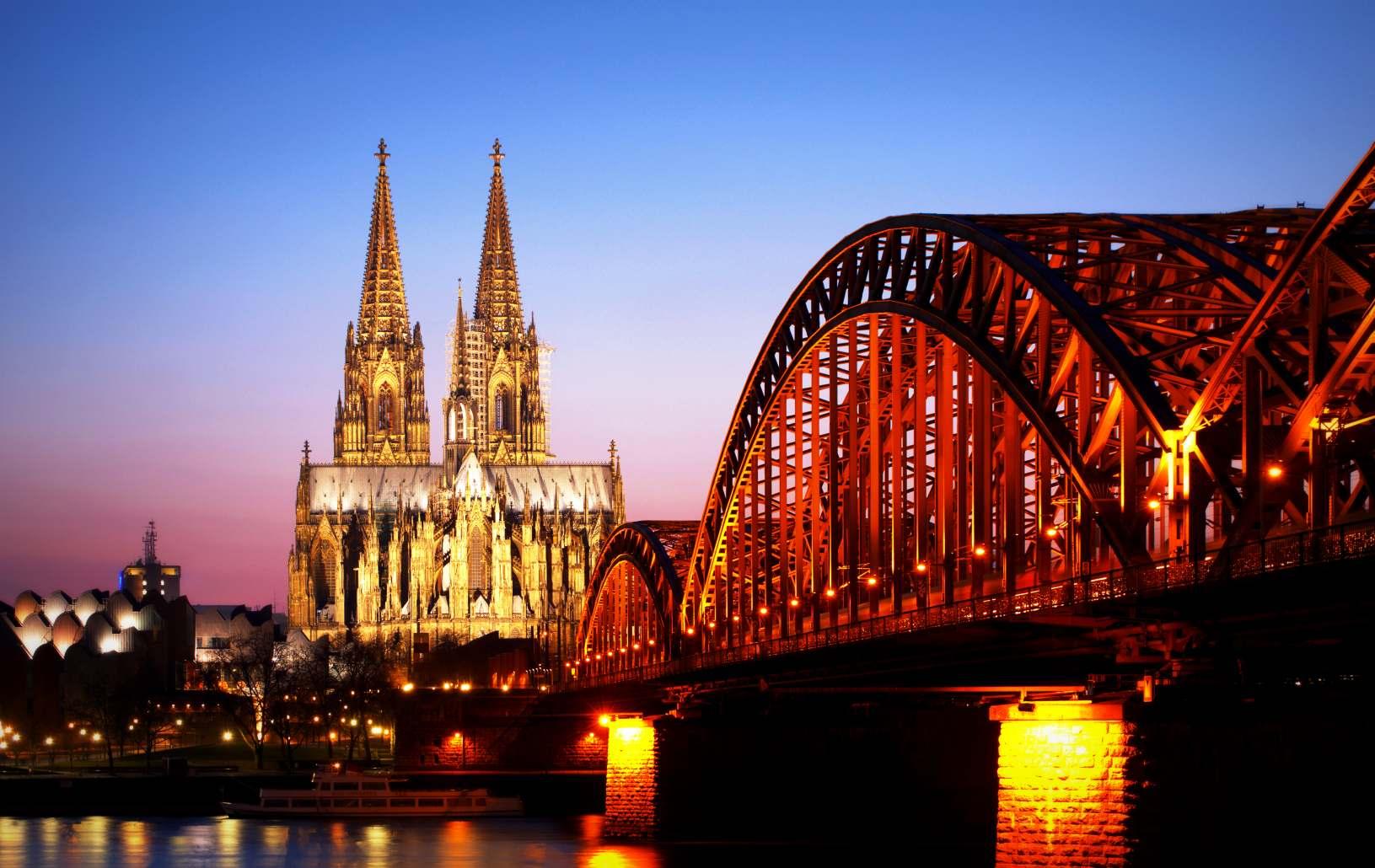 Das einzige Bild vom Kölner Dom ;-)