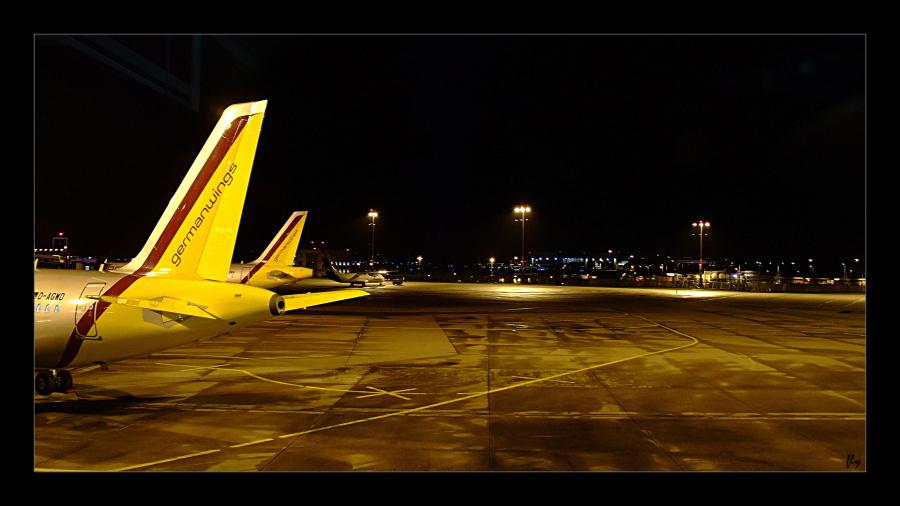Das einzige Flugzeug, welches ich zu Gesicht bekommen habe