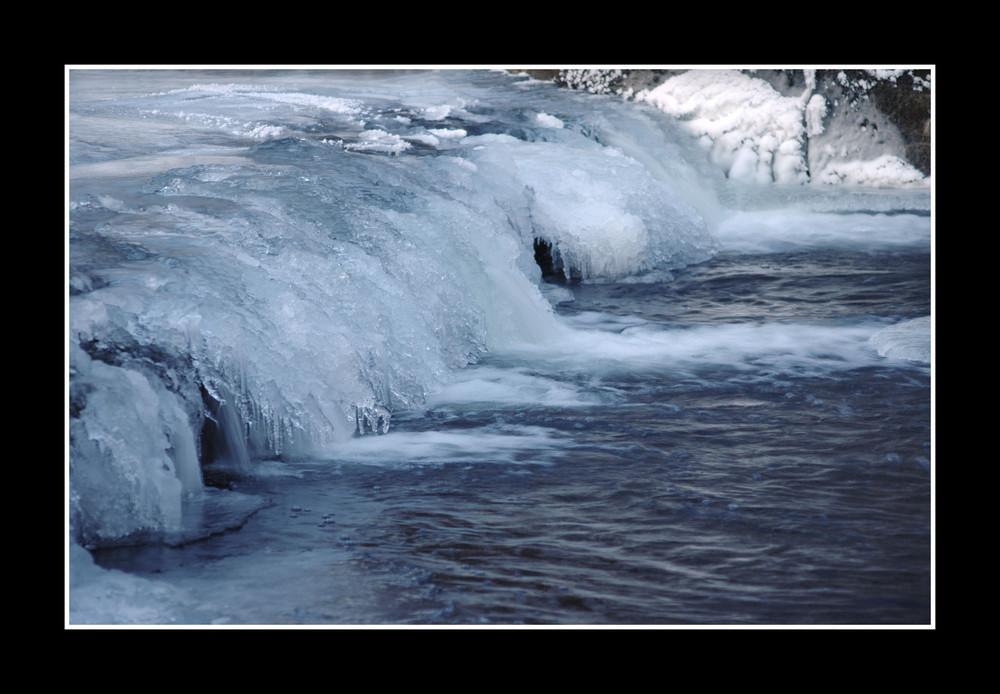 Das Eis brechen...