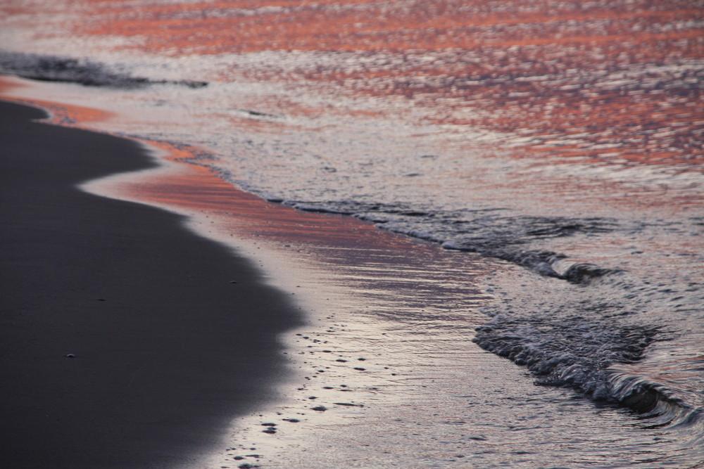 Das Element Wasser: Die Ostsee bei Sonnenuntergang
