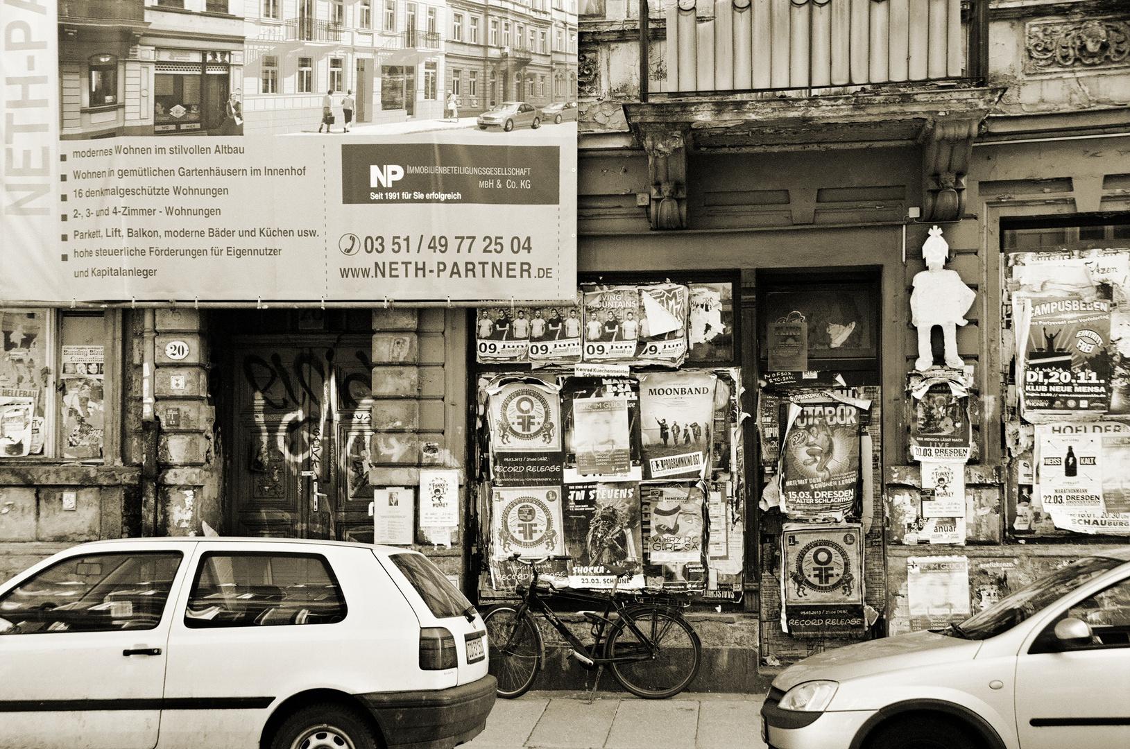 Das Ende der alten Dresdner Neustadt