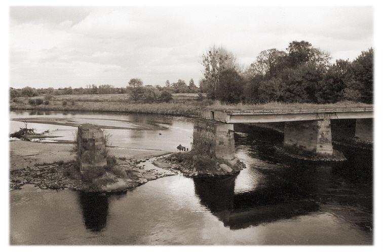 Das Ende der Brücke
